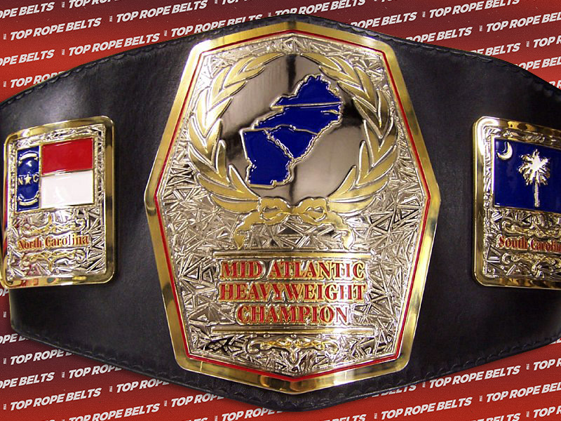 Cwf Mid Atlantic Championship Top Rope Belts