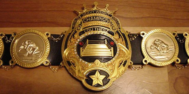 Lou Thesz Top Rope Belts