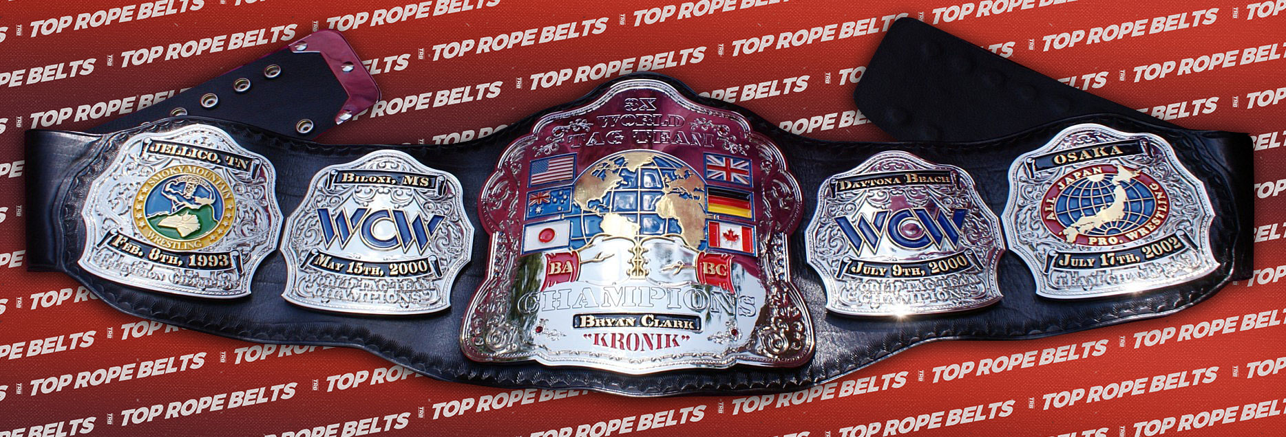 KRONIK Bryan Clark Custom Belt | Top Rope Belts