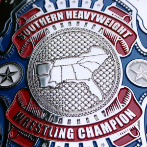 southern heavyweight title top rope belts