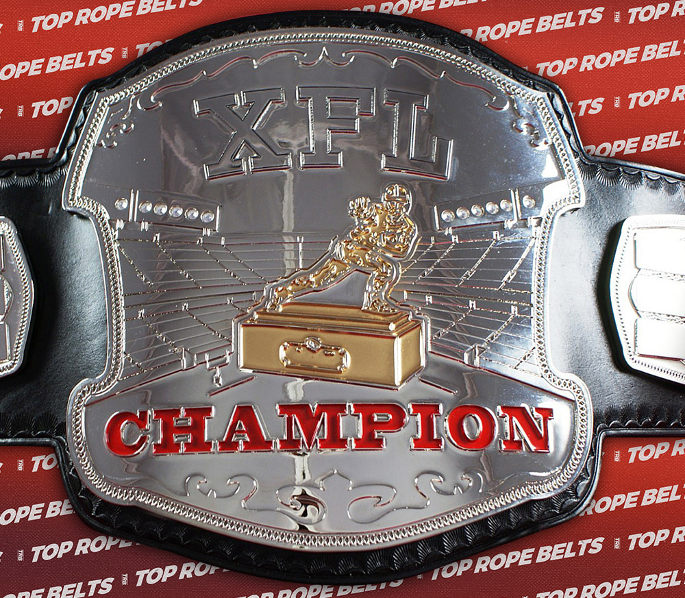 Fantasy Football Belt Trophy http://topropebelts.com/gallery/xfl-fantasy-football-belt/