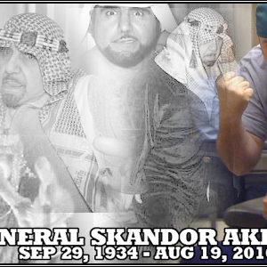 Wil Riggs With General Skandor Akbar