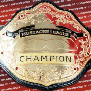 Mustache League | Top Rope Belts