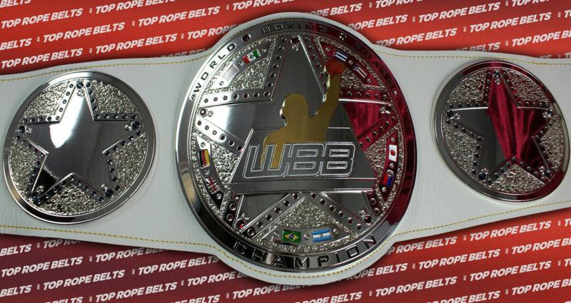 92b8a483 World Boxing Board Title Belt | Top Rope Belts