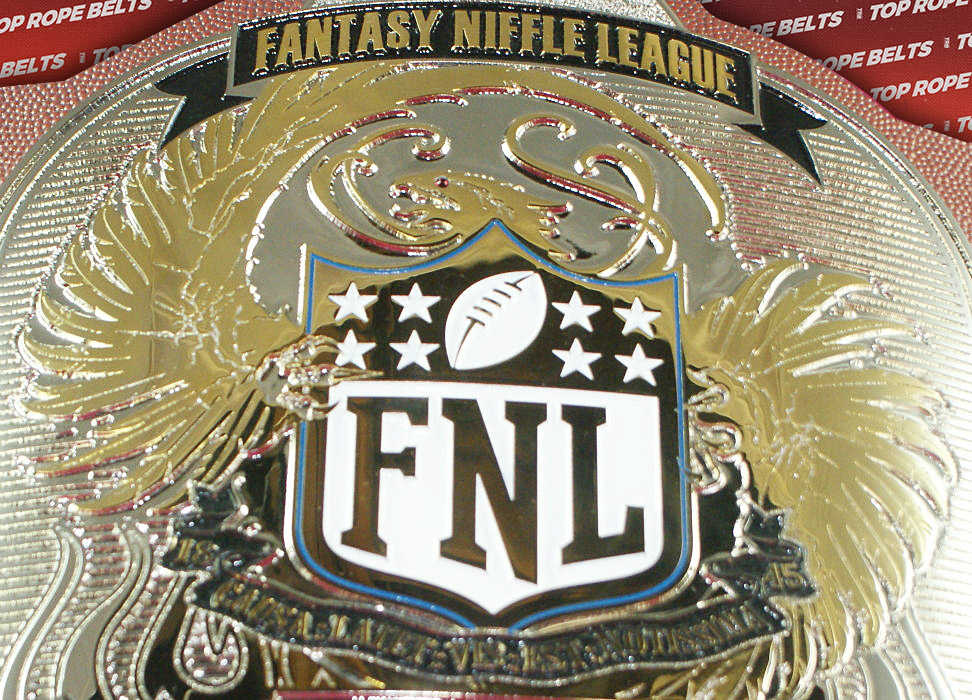 Niffle Fantasy Football League Championship Belt | Top ...
