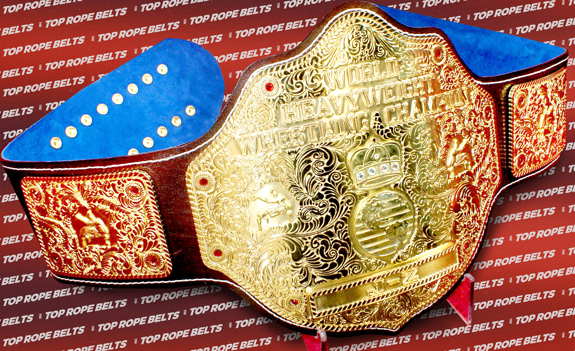 All Gold 80's Big Gold | Top Rope Belts