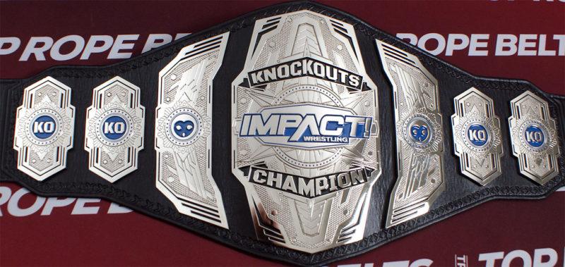 Impact Wrestling Knockouts Champion Belt Top Rope Belts