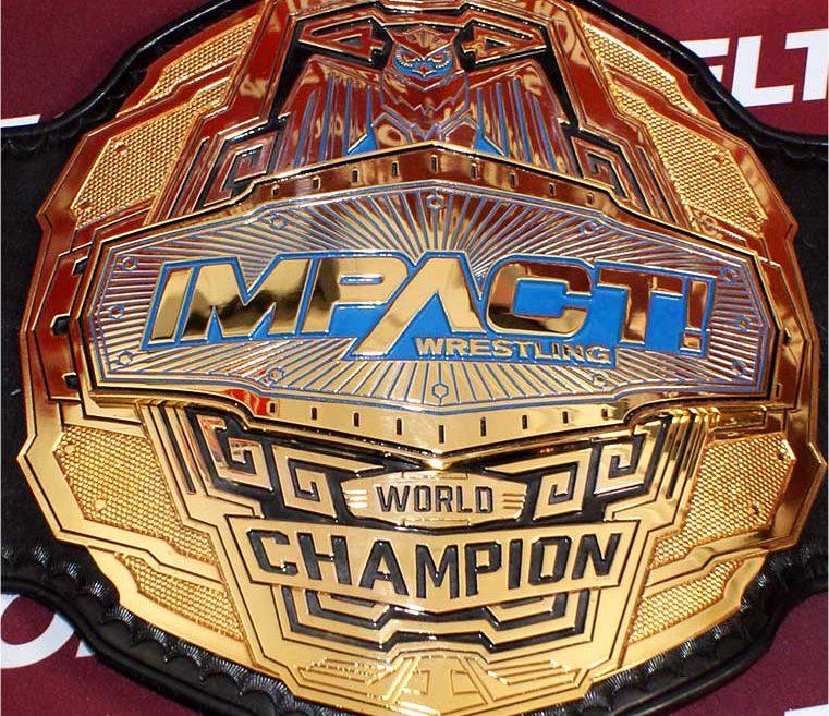 Impact World Champion Belt