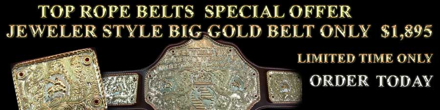 custom championship wrestling belts for sale