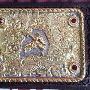 Laser-Carved-Big-Gold-World-Heavyweight-Championship-Belt