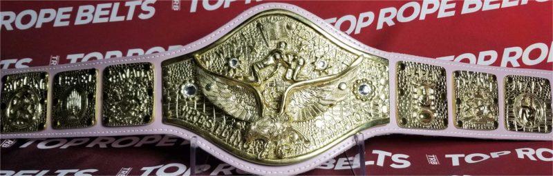 Backlund WWWF | Heavyweight Top Rope Title Belts