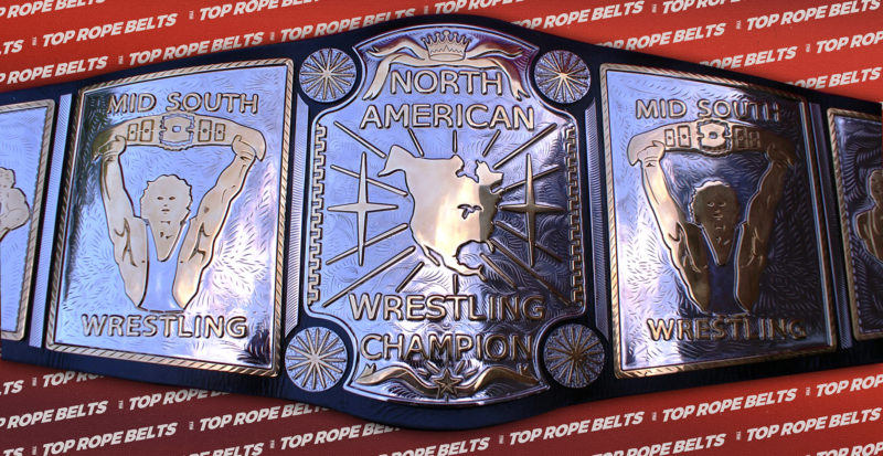Mid South North American Championship Top Rope Belts