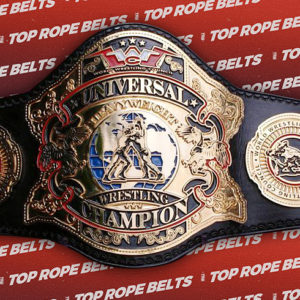 World Wrestling Council Universal Title | Top Rope Belts Universal Pictures Logo