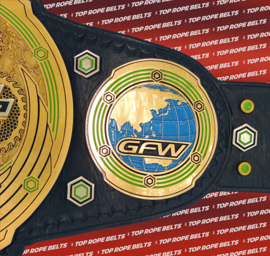 Global Force Wrestling Impact Belt Top Rope Belts