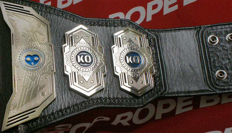 | Impact Wrestling Top Rope Knockouts Champion Belts Belt