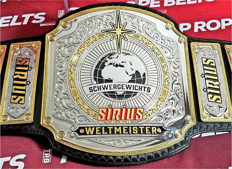 SIRIUS Championship Belt for Alpha Females Team in Germany
